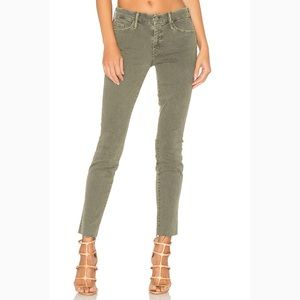 MOTHER Jeans - Mother high waist looker ankle fray jeans